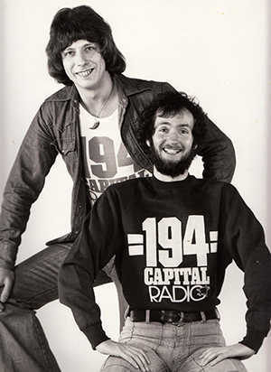 Roger Scott and Kenny Everett