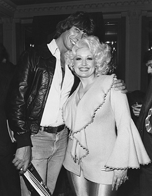 Roger Scott and Dolly Parton