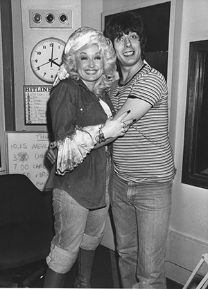 Roger Scott and Dolly Parton 2