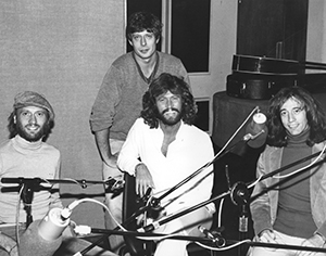 Roger Scott and the Bee Gees