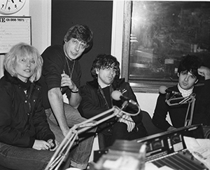 Roger Scott with Blondie 2