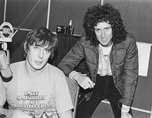 Roger Scott and Brian May
