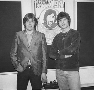 Roger Scott with Nick Lowe