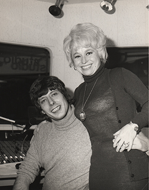 Roger Scott and Barbara Windsor